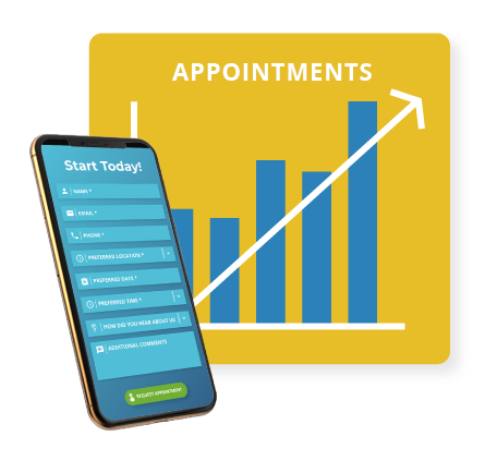 Increase New PT Patient Appointments Online