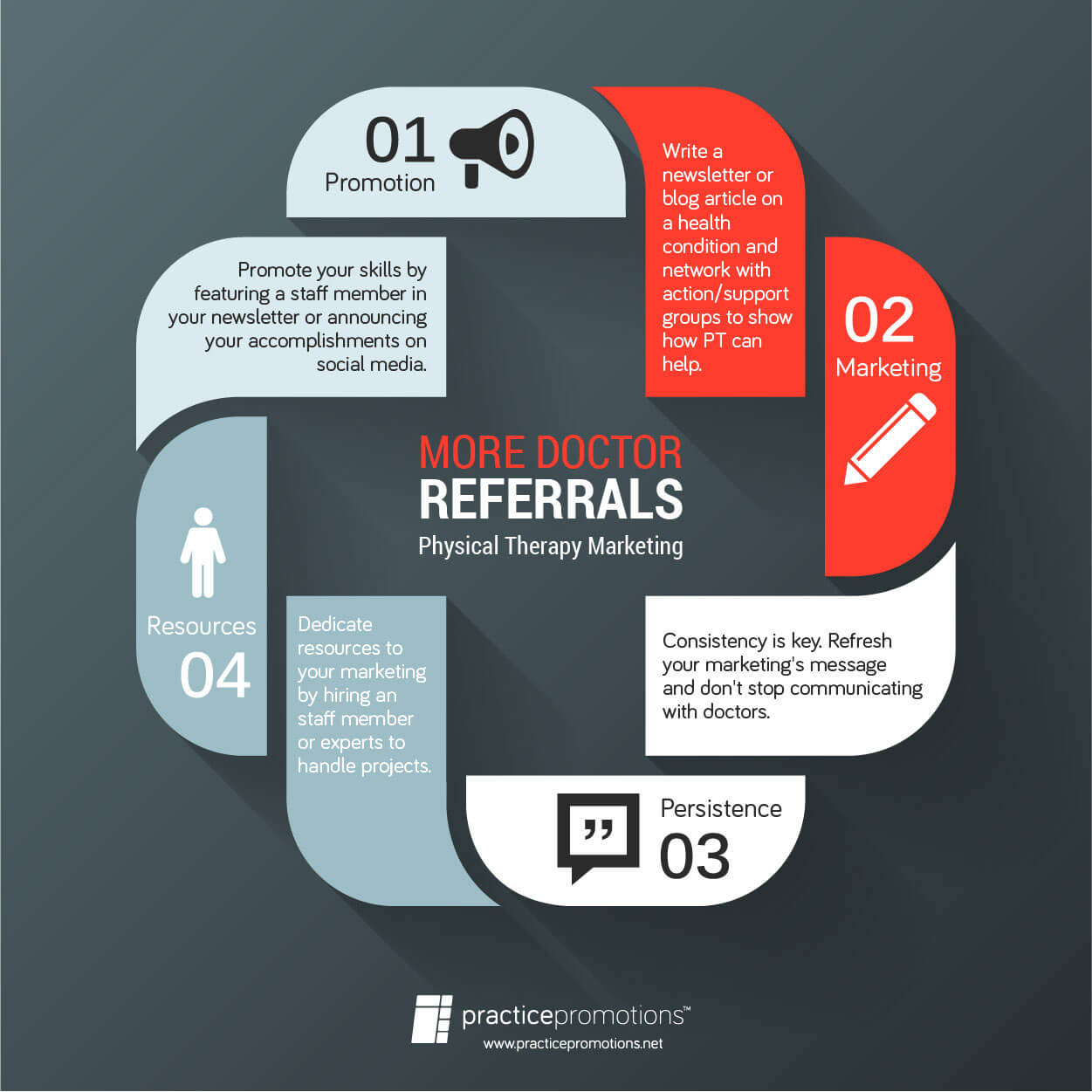 More Doctor Referrals with PT Marketing