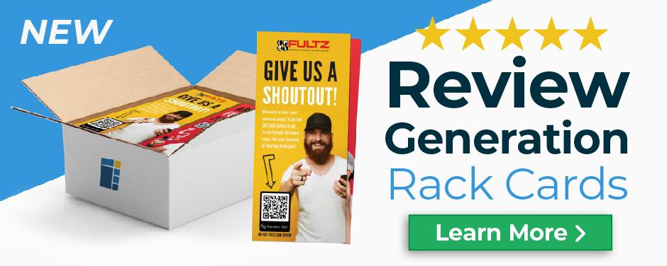 Shop Review Generation Cards