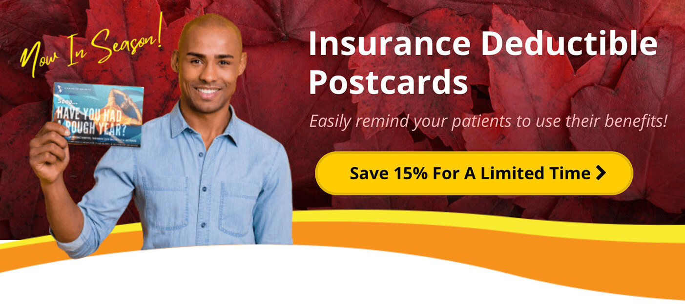 Insurance Postcards for PT Clinics