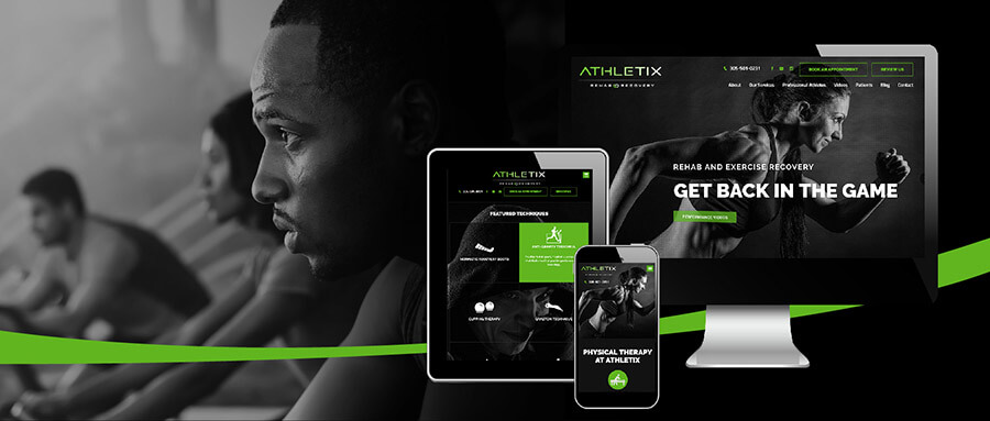 Example of Sports Therapy Branding