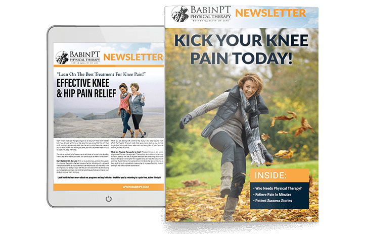 Babin PT Newsletter Sample