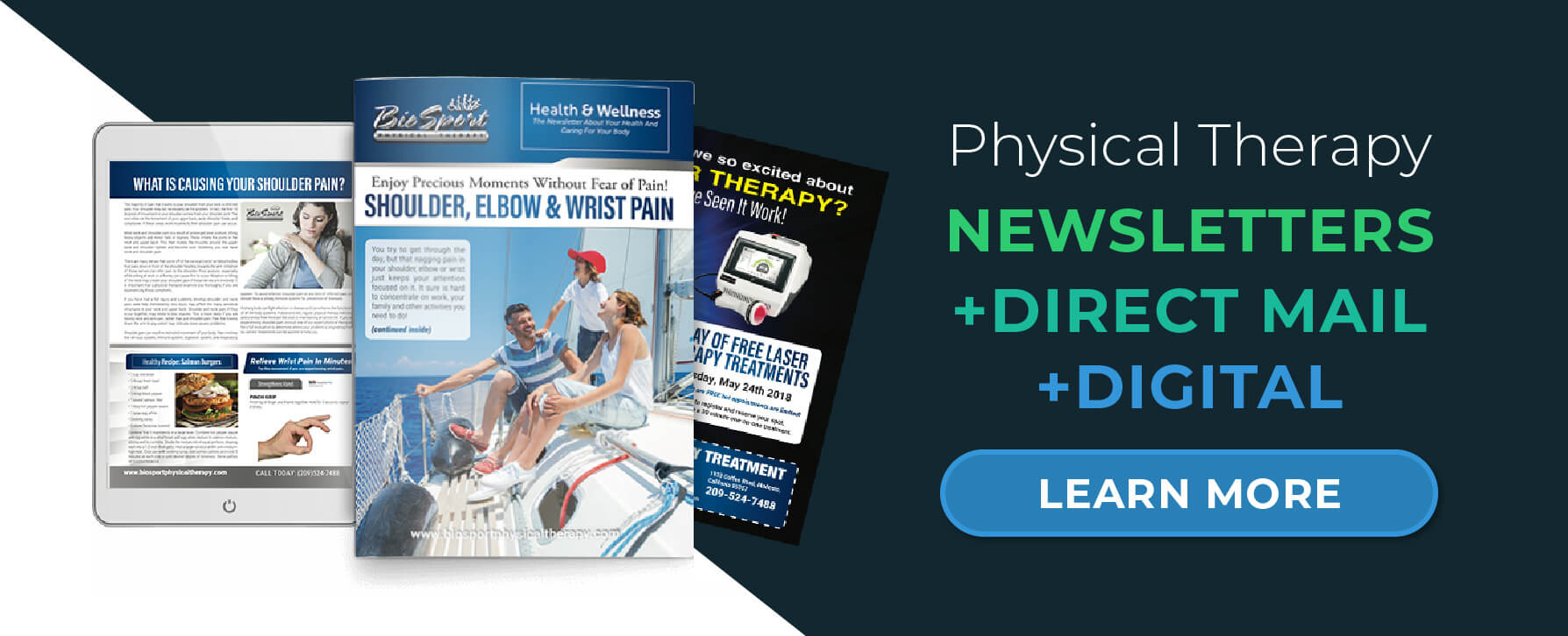 Explore Physical Therapy Newsletter Services