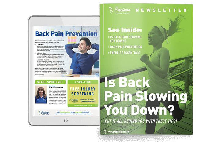 Precision Physical Therapy Newsletter 2018