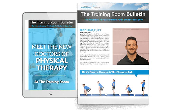 The Training Room Newsletter