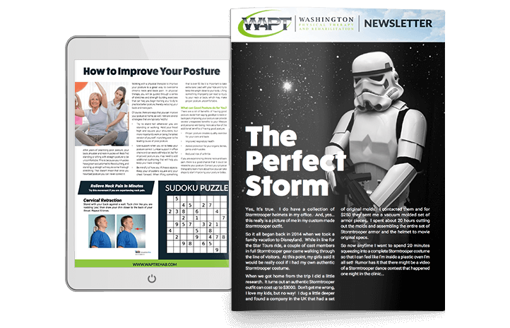 PT Newsletter About Posture