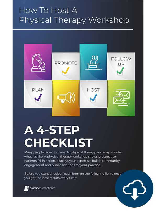 Download the Physical Therapy Workshop Checklist
