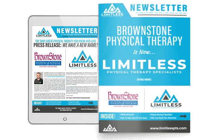 Limitless Physical Therapy Newsletter