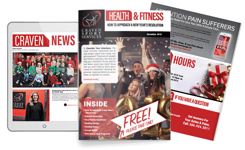 Holiday PT Newsletter