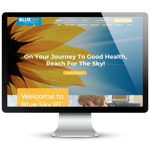 Blue Sky Physical Therapy Website