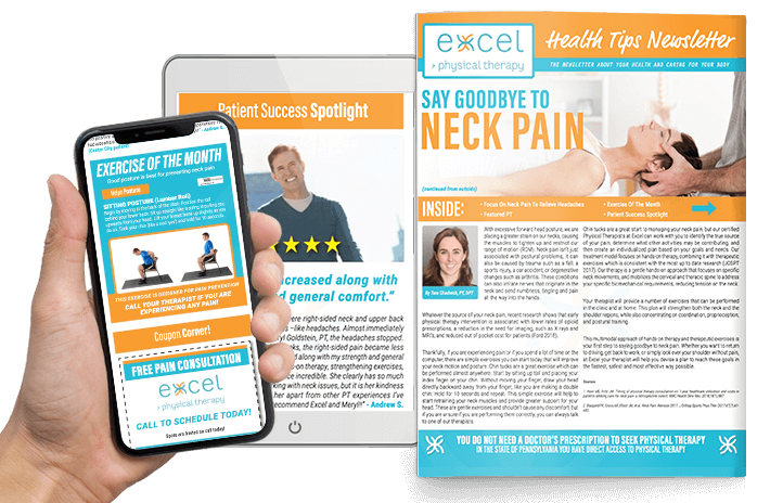 Excel Physical Therapy Digital Newsletter