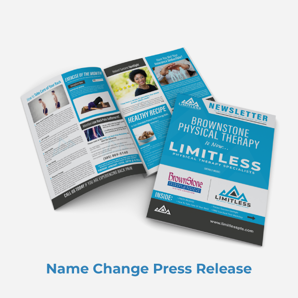 Limitless PT Newsletter Name Change Issue