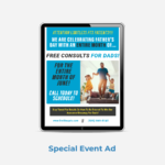 Limitless PT Newsletter Special Event Ad