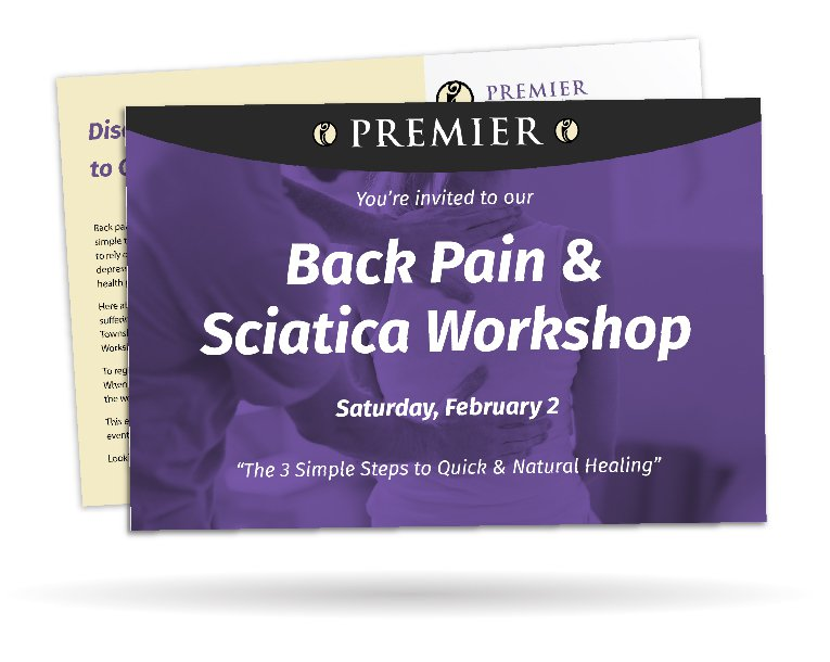 workshop postcard for physical therapy