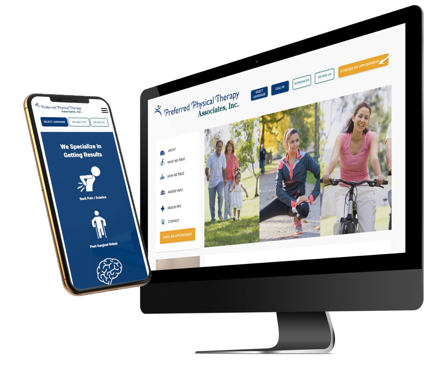 Preferred Physical Therapy New Website