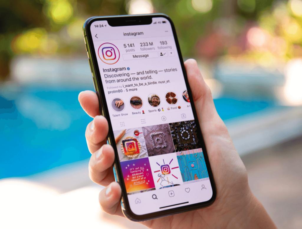 Phone Instagram Posting Social Media