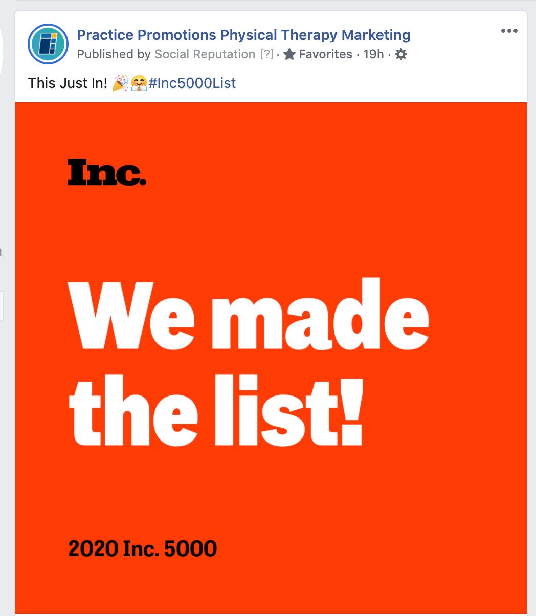 inc500 social post