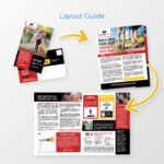 PT Patient Newsletter Direct Mail Layout