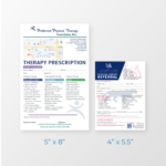 PT Prescription Pad Sizes