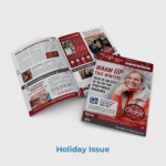 Foundation PT Patient Newsletter Sample Holiday Theme