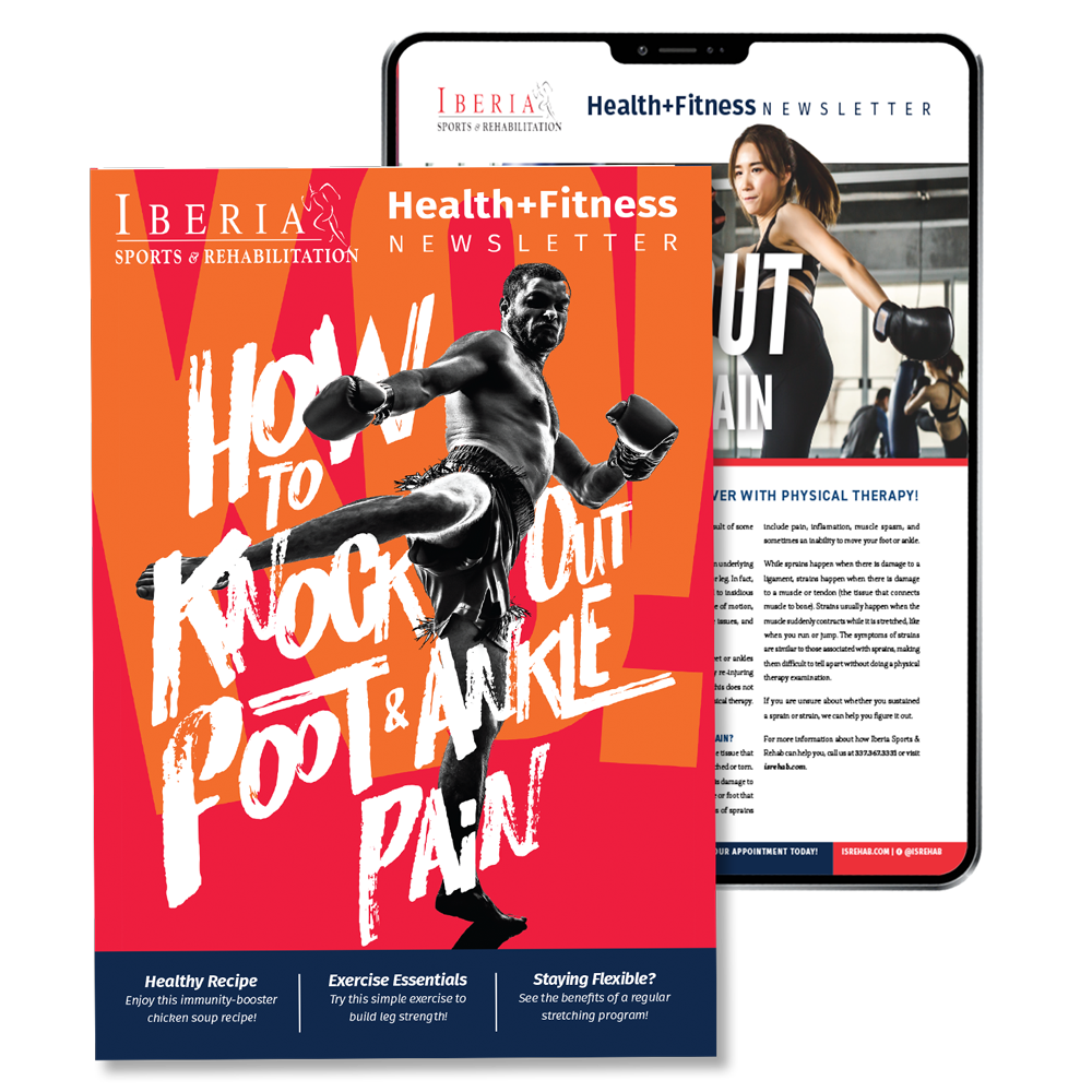 Iberia Rehab Patient Newsletter
