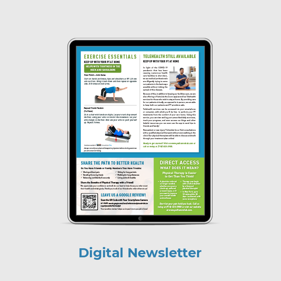 Pelham Physical Medicine Digital Newsletter