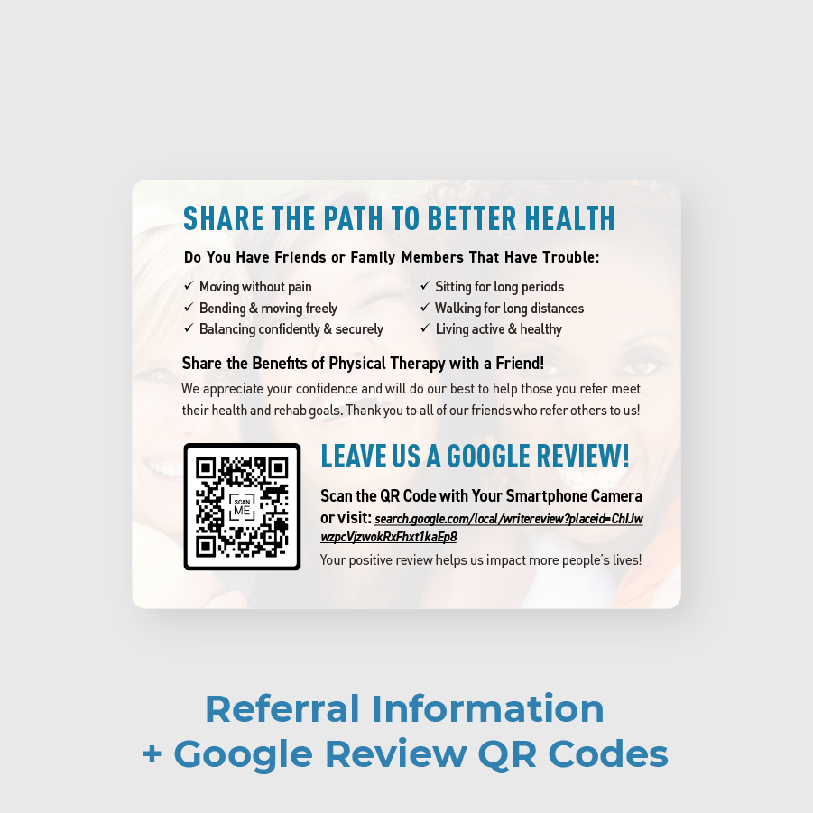 Pelham Physical Medicine Patient Referral And Google Review Sample