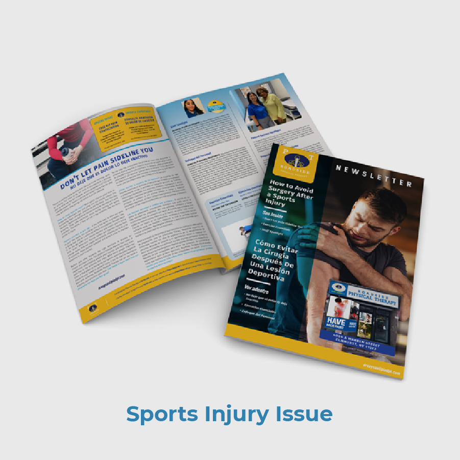 Roadside PT Patient Newsletter Sample Sports Injury Topic
