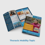 Training Room PT Patient Newsletter Sample Thoracic Mobility Topic