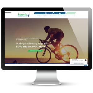 Kinetix Physical Therapy Website