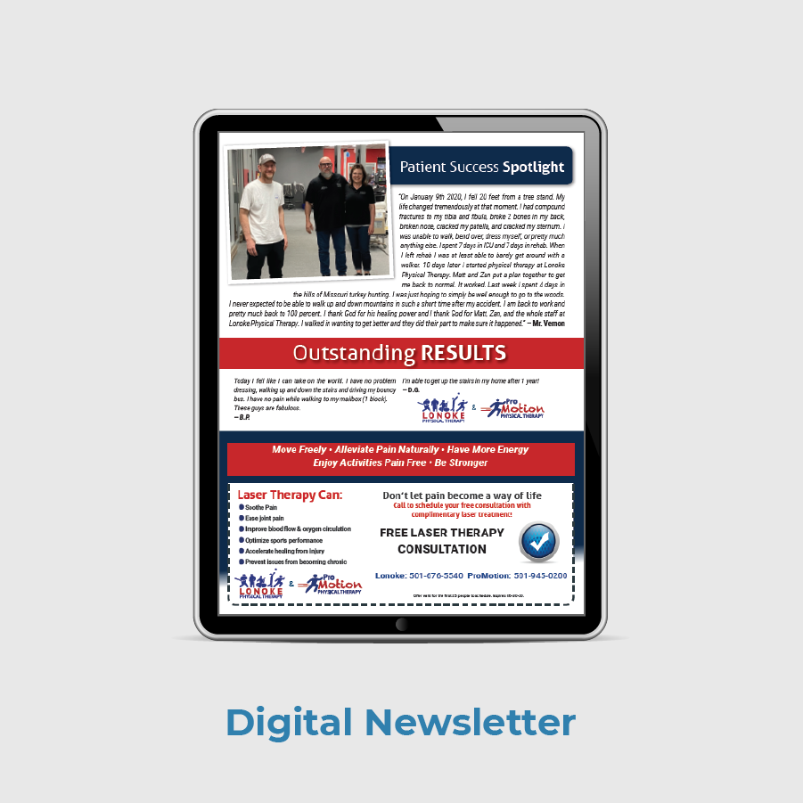 Lonoke PT Patient Newsletter Digital