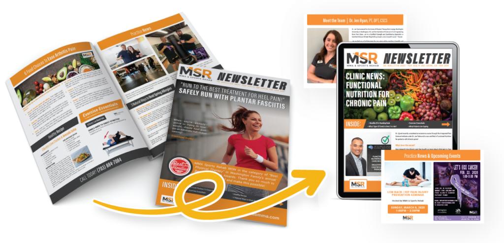 MSR Print and Digital Patient Newsletter