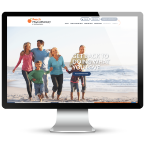 Peach Physiotherapy Website