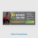 Pittman PT Clinic Promotions Newsletter