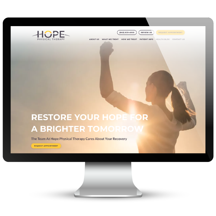 Hope Physical Therapy Website