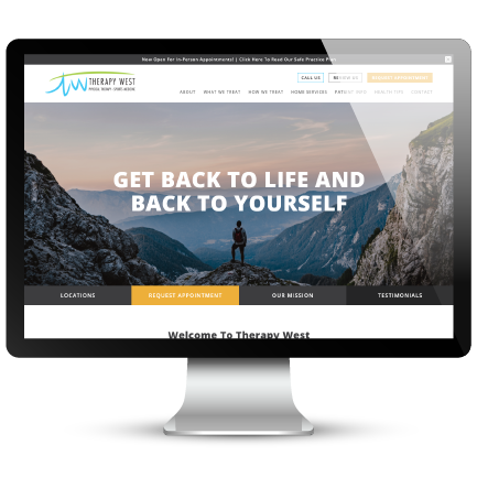 Therapy West Sports Medicine Website