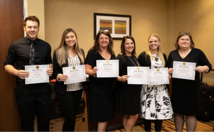 Practice Promotions team awards