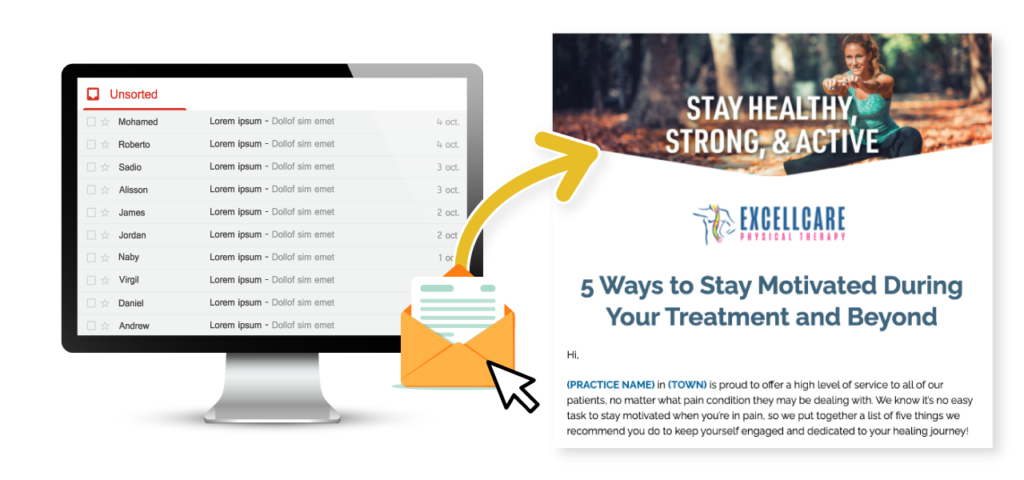 Spring Email Marketing for Patients