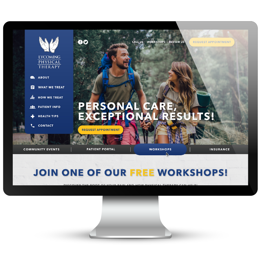 Lycoming Physical Therapy Website